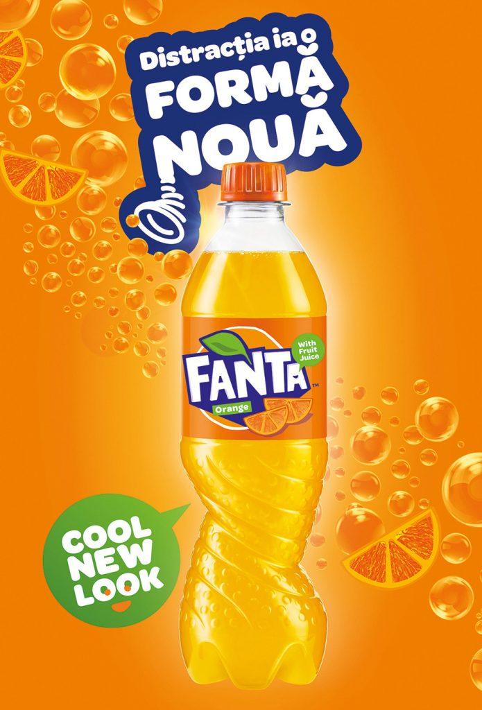 Разработка логотипа Fanta от неизвестного автора