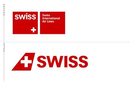 Логотип авиакомпании swiss