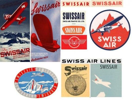 Самые первые логотипы авиакомпании