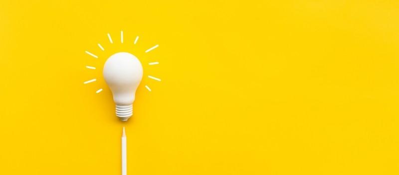 лампочка идеи