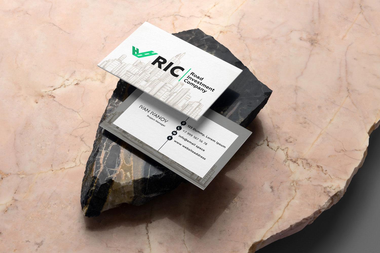 визитка инвестиционной компании