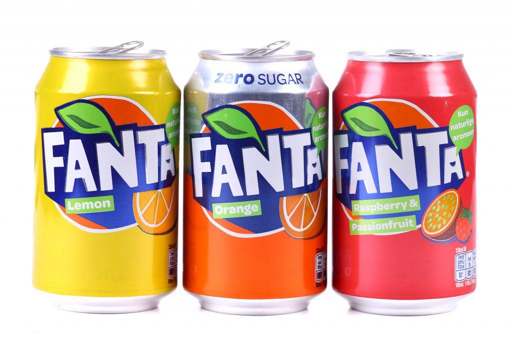 Логотип Fanta с 2016 года